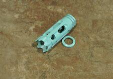Robins Egg Blue Cerakote Crown Muzzle Brake 1/2x28 tpi 22,556,223