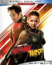 BLU RAY DISC ONLY Ant Man and the Wasp (2018) Free Shipping in USA MCU No Case