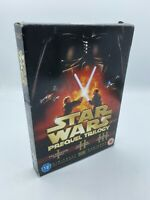 Star Wars - Prequel Trilogy (DVD, 2008, 6-Disc Set, Box Set)