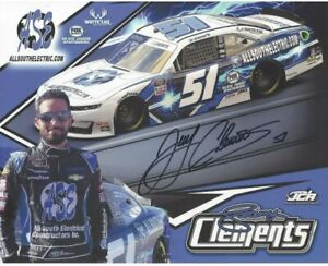 2020 JEREMY CLEMENTS ALL SOUTH ELECTRIC #51  XFINITY POSTCARD Autographed SIGNED