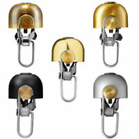 MINIMALX BELL Bicycle Mountain Bike Copper Bell High Quality Loudly Speaker Gold