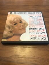 Doris Day Love Him 4 Track REEL TO REEL Tape 7 1/2 IPS