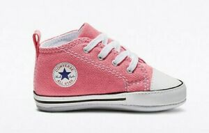 Converse Chuck Taylor First Star Hi Top (Infant/Toddler), 88871 Multi Sizes Pink