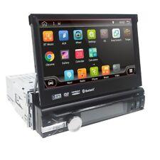 Single 1 DIN Android 8.1 Car DAB+ Player Stereo Radio Motorized GPS Sat Nav WIFI