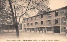 Saint-Mandé - Institution POINTEAU - la cour et les nouveaux bâtiments