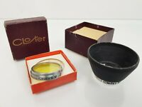 Rare Vintage Closter m/m 30 Filter + Closter m/m 30 Lens Hood