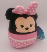 """Squishmallows Disney Minnie Mouse 5"""" Exclusive Spring 2021 NWT Kellytoy Plush"""