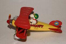 Aviva Toys, Diecast Metal Snoopy in Airplane, Nice Original