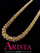 REDUCED TO CLEAR Indian Stone Gold In Gold Long Necklace Kamar Band Bollywood