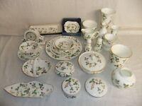 c4 Porcelain Wedgwood bone china - Wild Strawberry - few items remaining 6B2C