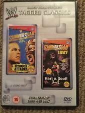 WWE Tagged Classics - Summerslam 1996 & 1997 DVD WWF RARE