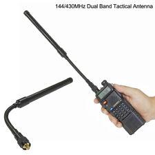 Foldable Dual Band SMA-Female Goose Tube Tactical Antenna 50ohm Impedance