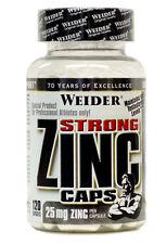 17,13€/100g Weider Zinc Strong hochwertiges Zink Zinkcitrat 120 Kapseln