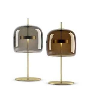 Nordic Modern Flos Glass Table/ Desk Lamp Led Bulb Brass Finish Reading Light