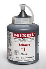 Mixol Nr.1 schwarz 0,5l - Universal Abtönkonzentrat Abtönfarbe Pigment Farbe