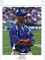 Autographed Signed Tony Dungy Colts 8x10 Photo jhaut