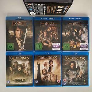Der Hobbit und Der Herr Der Ringe: Mittelerde Collection 12-Disc | Blu-Ray