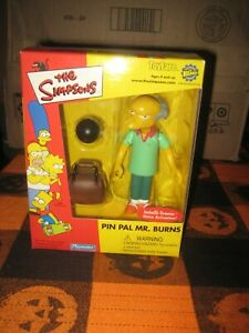 The Simpsons Playmates Pin Pal Mr. Burns toyfare exclusive