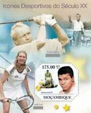 Mozambique - Sport Legends, Ali, Graf, Palmer - Stamp S/s 13A-626