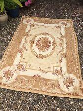 Handmade country patchwork matelassé plancher tapis fait avec laura ashley tissu ML02