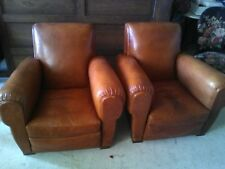 1paire dr fauteuil club annee 1950