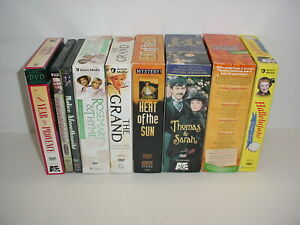 Lot of 9 British TV DVDs Upstairs Down Stairs Keeping Up Appearances The Grand