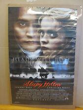 Vintage Sleepy Hollow 1999 Tim Burton movie poster 5765