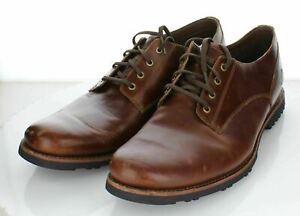 17-78 $130 Men Sz 14 M Timberland Kendrick Leather Waterproof Plain Toe Oxford