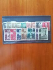 Stockcard with 9 Bosnian and 8 Austrian stamps mint