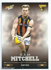 2016 Select Footy Stars Base Card (120) Sam MITCHELL Hawthorn