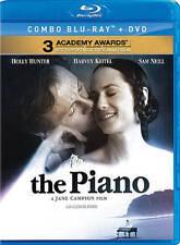 The Piano (Blu-ray/DVD, 2012)- Holly Hunter,Harvey Keitel,Sam Neill