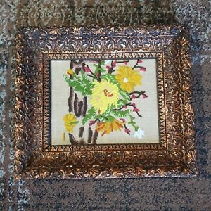 """Antique Deep Wall Wooden French Style Gold Gilt Picture Frame Fits 8"""" x 10"""""""