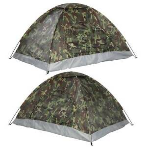 Outdoor Casual Camouflage Dome Tent UV Protection Camping Hiking 2 Persons UK