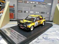 FIAT 131 Abarth Rallye Boucles de Spa 1980 #3 Mouton Caling Scala43 Trofeu 1:43