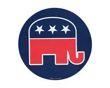 Magnetic Bumper Sticker - Republican Elephant (Conservative) - Round Magnet