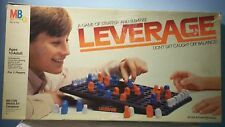 Leverage game of strategy and suspence by MB, 1982 Missing 1 PC