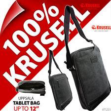 """Krusell Uppsala 10"""" 11"""" 12"""" Shoulder Bag Tablet Laptop Padded Case for iPad Pro"""