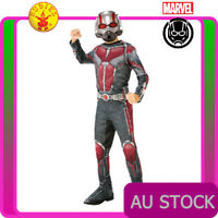 Boys Antman Costume Fancy Dress Kids Superhero Marvel Child Ant Man Book Week