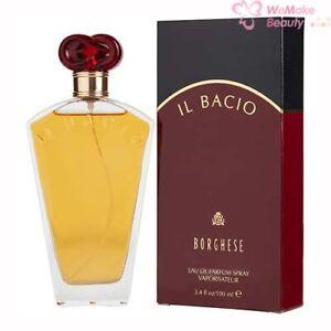 IL Bacio by Borghese for Women 3.4 oz Eau De Parfum Spray New In Box