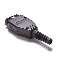 OBD2 Connector OBDII 16 Pin Adaptor OBD II Plug Connectors Male OBD 16PIN Pop YF