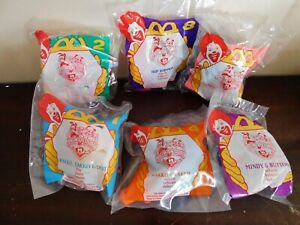 Vintage Animaniacs McDonald's Happy Meal Toys. 1994. Lot of 6. New! Mint!