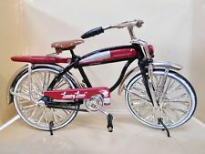Miniature 1:20 Scale Red & Black Roadmaster Luxury Liner Rat Rod Bicycle Toy