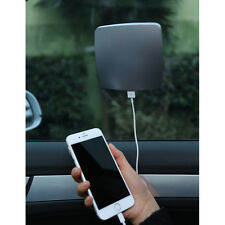 Universal 2800mAh USB Sun Solar Window Panel Car Charger Power Bank Battery