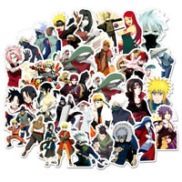100pcs Anime Ninja Stickers Sasuke Decals For Skateboard Car Luggage Laptop