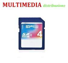 SD MEMORIA 4GB SILICON POWER SD HC  CLASSE 4