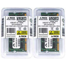 4GB KIT 2 x 2GB HP Compaq G50-112NR G50-113CA G50-116CA G50-118NR Ram Memory