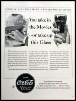 1940 Coca Cola Coke Soda Vintage Advertisement Print Art Ad Poster LG89