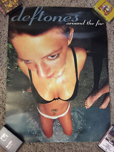 Deftones - Around The Fur 1997 Promo Poster