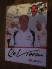 2699 original signierte Autogrammkarte Werbekarte Horst Köppel DFB Gladbach BVB