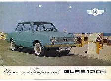 Glas  Folder  1204  1964